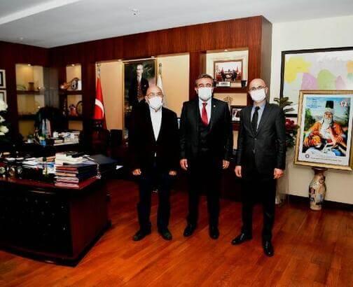 Adana Tabip Odası'ndan Başkan Çetin'e teşekkür