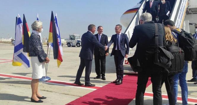 Almanya Dışişleri Bakanı Maas, İsrail'de