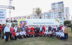 Mersin Büyükşehir'den 49 Başarılı Sporcu ve 35 Antrenöre 419 Bin Lira Ödül