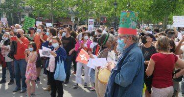 Fransa'da Brezilya'daki hükümet karşıtı protestolara destek