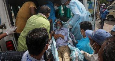 Hindistan'da hastanede yangın faciası: 18 korona hastası öldü