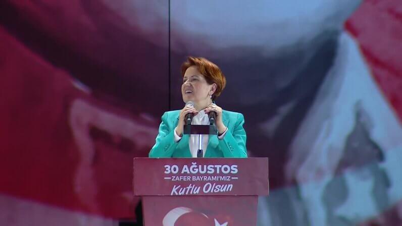 """Akşener: """"Cumhuriyete Sahip Çıkacağız, Cumhuriyet'ten Ayrılınırsa Tek Adam Rejimi Doğar"""""""